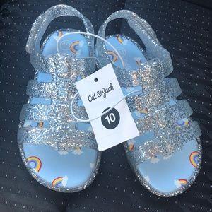 Toddler girl sandal